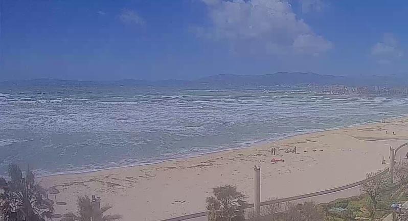 webcam Migjorn El Arenal Islas Baleares