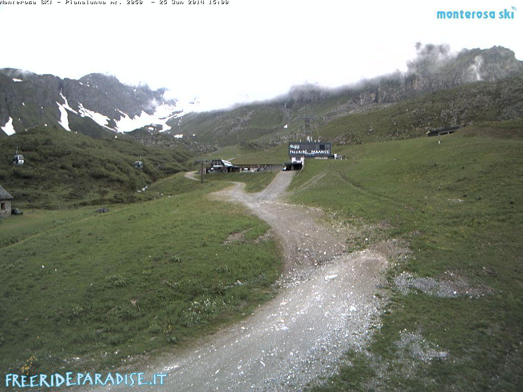 webcam Pianalunga Monterosa Ski Vercelli