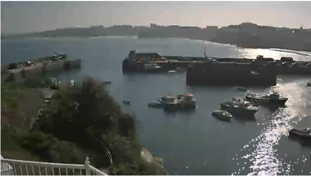 webcam Newquay Harbour South West