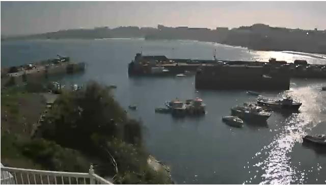 Webcam Newquay Harbour