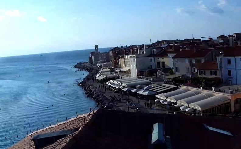 webcam Piran Hotel Piran
