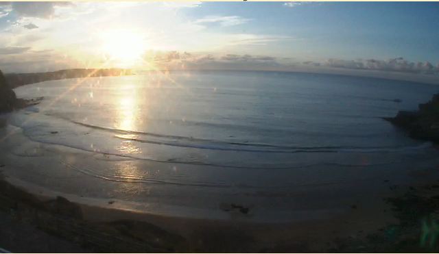 webcam Playa de Somo Trasmiera