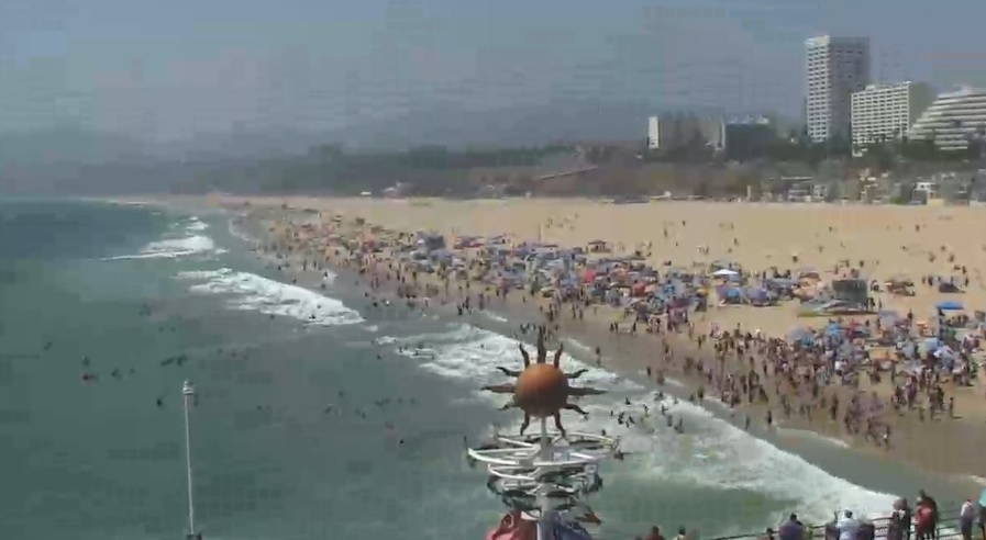 webcam Santa Monica Pier Los Angeles