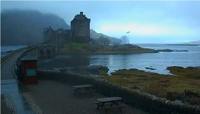 webcam Dornie Eilean Donan Castle Highland