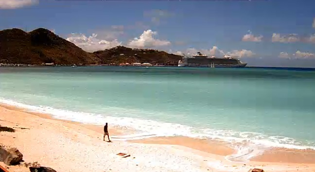 Webcam Saint Martin Pelican Dutch side