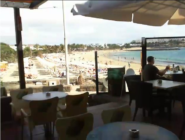 Webcam Las Cucharas Costa Teguise