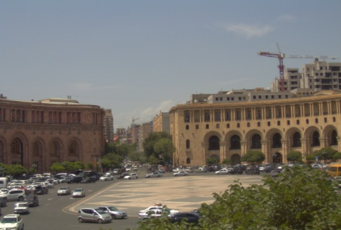 Webcam Yerevan Republic Square