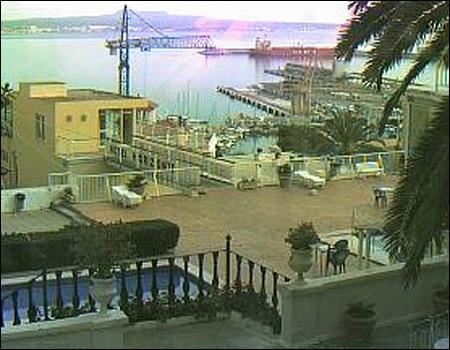 webcam Puerto de Palma de Mallorca Islas Baleares