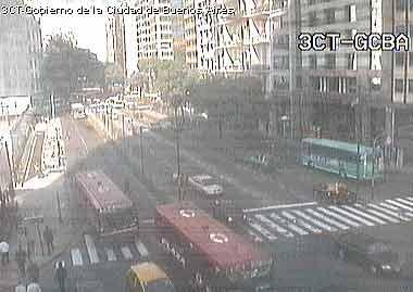 Buenos Aires webcam - Buenos Aires Av C�rdoba webcam, Buenos Aires, Buenos Aires