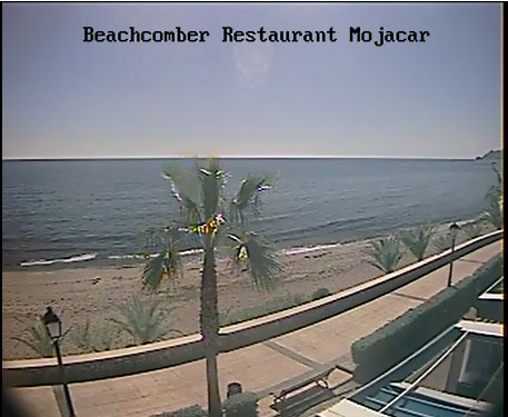 webcam Mojacar Restaurant Almeria