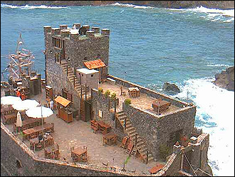 webcam Castillo del Mar Vallehermoso Santa Cruz de Tenerife