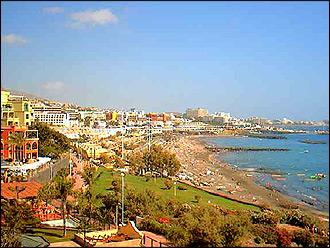 Webcam Playa de Fañabe,und las Americas Teneriffa