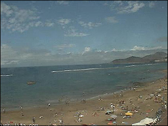 Webcam Las Canteras