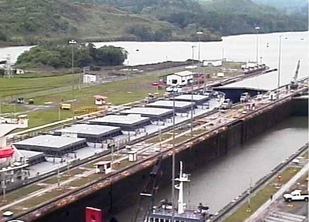 webcam Canal de Panam� Panam�