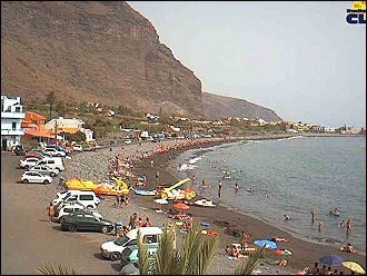webcam Playa Valle Gran Rey Santa Cruz de Tenerife