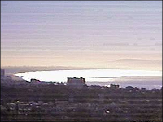 Webcam Pacific Palisades Santa Monica Bay
