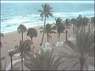 webcam Fort Lauderdale Beach Florida