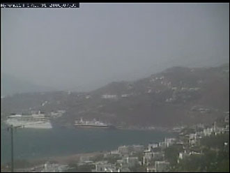 webcam Mykonos C�cladas