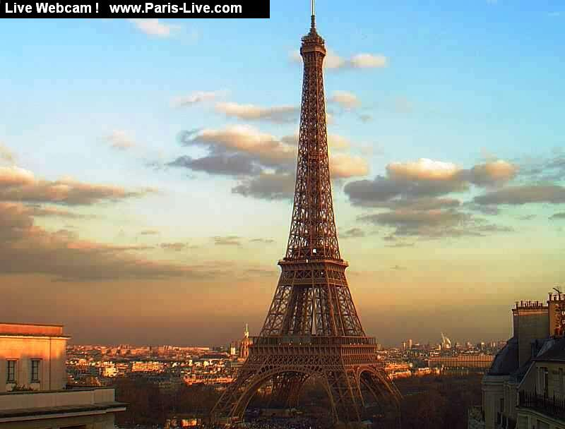 Webcam Eiffel Tower