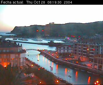 Webcam Zumaia