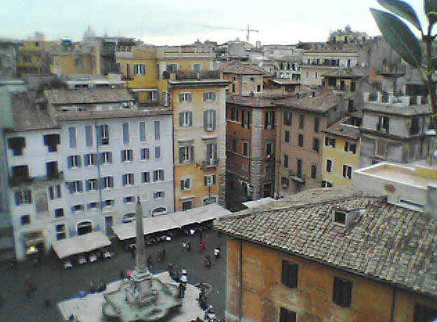 webcam pantheon rome